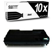 10x Toner Xxl For Ricoh Aficio Sp-212-suw Sp-211-su Sp-204-sf Sp-201-nw