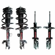 Fcs Front And Rear Suspension Struts And Front Coil Springs For Avalon Auto Fwd