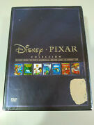 Disney Pixar Collection Toy Story Finding Nemo Cars Monsters Sa - 9 X Dvd