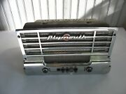 Used 1949 Mopar Plymouth Radio Missing Knobs/buttons Nice Grille Untested