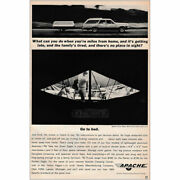 1964 Apache Camper When Youre Miles From Home Vintage Print Ad