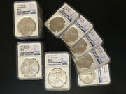 Silver 1 Oz American Eagle 2017 1 20 Coins Ms 70 Early Releases Ms70 Lot Of 20