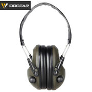 Idogear Shooting Headset Hearing Protection Noise Reduction Tac-6-s Airsoft