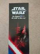 Rare Collectable Star Wars Poster Display New