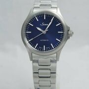 [new] Sinn 556.i.b Automatic Stainless Steel 38.5mm Blue Dial Men's Watch 200m