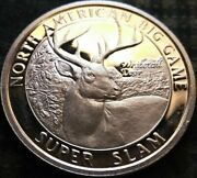 North American Hunting Club Whitetail Deer Super Slam .999 Fine Silver Medal
