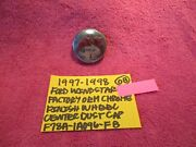 1997-1998 Ford Windstar Factory Oem Chrome Finish Wheel Dust Cover Free Shippin