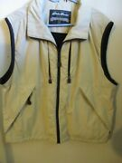 Eddie Bauer Outdoor Outfitter Menand039s Polyester Knit Lined Vest Size M