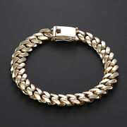 9 K Yellow Gold Tight Link Curb Bracelet Rrp Andpound3120 9 - Uk Hallmarked {bc3_a}
