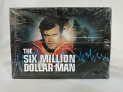 The Six Million Dollar Bionic Man Complete Series Time Life Boxed Set Sealed New