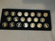 Complete 2010 Presidential Dollars- 20 Coin Set