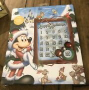 Disney Christmas Holiday Countdown Magnetic Advent Calendar Mickey Chip Dale