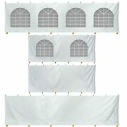 8and039 High 20x40and039 Tent Sidewall Kit Canopy Enclosure Waterproof 14 Oz Vinyl Sides