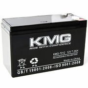 New 12v 7.2ah F1/f2 Terminal Battery Kmg For Upsonic Batteries System 60