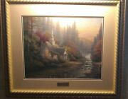 Thomas Kinkade The Forest Chapel Print Library Edition