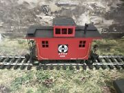 K Bachmann G Scale 425 At And Sf  Bobber Caboose