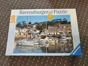 Ravensburger The Harbour At Padstow - 500 Pieces Jigsaw Puzzle Rare