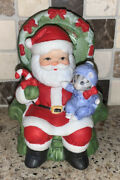 Kitty Cucumber Baby's First Christmas 1989 Mint Schmid Limited Edition Ornament
