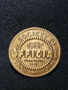 Rockwell Society Of America 1982 Official Corporate Seal Medal Coin