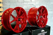 Neuf 20 Inch 5x120 Forzza Oregon Candy Rouge Roues Pour Bmw 3 4 5 6 E F Sandeacuterie