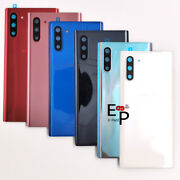 Battery Door Back Glass Cover With Lens Cover For Samsung Note 10 / Note10+ Plus