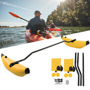 Inflatable Kayak Stabilizer Pvc Canoe Outrigger Kit Floating Boat Accessory