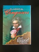 Alfredand039s Music Playing Cards Classical Composers Designed By Dana Dand039elia 2013