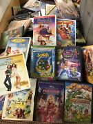Lot Of 100 Kids Dvd Assorted Movies Disney Included Childrenand039s Movies And Tv Shows