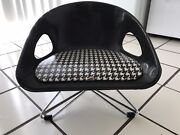 ❤️ Vtg Costco Kids Baby Booster Seat Chair Eifel Tower Base Space Age Modern