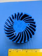 Heatsink, Round, For Power Led, 2 3/4 X 1 3/4, Blue Color One