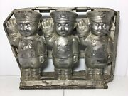 """Antique Vintage Police Officer Boy Chocolate Mold Made By Anton Reiche 9 1/4""""x7"""""""