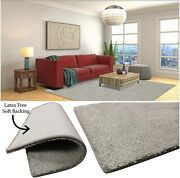 Dove Grey - 1/2 Thick 60oz Soft And Cozy Area Rugs And Runners