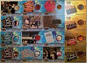 Charlie And Chocolate Factory Near Complete Limited Prop Card Set 16 Different