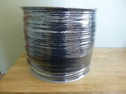 1/4 X 2550 Ft.2 Lengths On Spool Hollow Braid Polypropylene Rope Spool.
