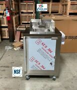 New Portable Single Compartment Sink Enclosed Stainless Steel Event Festival Nsf