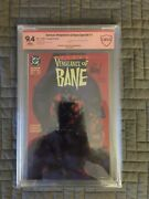 Batman Vengeance Of Bane 1 Cbcs 9.4 Signed By Graham And Nolan First Bane
