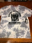 Awesome Beatles Come Together Hard Rock Cafe New W/tags Tye-dye Size Large