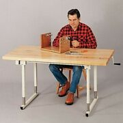 Sammons Preston Midland Manual Height Adjustable Work Table Local Pick-up Only