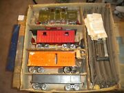 Lionel Standard Gauge Locomotive And Cars And Box C. 1913-