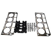 Hydraulic Roller Lifters And Cylinder Head Gasket And Guides For Chevy Gm 4.8 Ls1