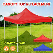 Us 10x10ft Waterproof Canopy Top Replacement Patio Outdoor Sunshade Tent Cover