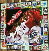 2008 Phillies Monopoly Collectors Edition Board Game Signed By 32 Players An