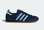 Adidas Originals Jeans Mens Trainers In Navy And Blue Suede Leather Shoes