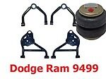 L Larry-do9401 1994-2001 Dodge R1500 Upper/lower Control Arms/bags/mount