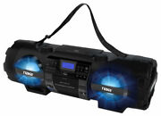 Naxa Npb-262 Mp3 Cd Player Boombox And Pa System With Bluetooth And Aux Input