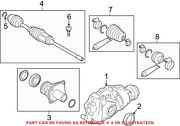Genuine Oem Front Right Cv Axle Assembly For Bmw 31607606026