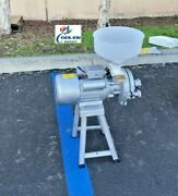 New Electric Feed Mill Wet Dry Cereals Grinder Rice Corn Grain Coffee Wheat