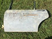 Jaguar Xj6 Xj12 1974-79 Left Rear Door Shell White And Yellow From Florida Car
