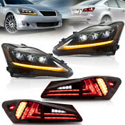 Sequential Headlight Replacement Light For Lexus Is250 Is350 Is 220d Is F Model