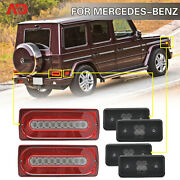 Sequential Led Tail Light Side Marker For Mercedes W463 G500 G55 G550 G63 02-14